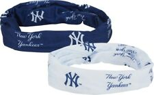 New York Yankees Hair Tie Pony Tail Fan Stretch Wrap Headband Bracelet