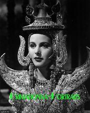 "HEDY LAMARR 8X10 Lab Photo B&W 1939 ""LADY OF THE TROPICS"" Amazing Headdress"