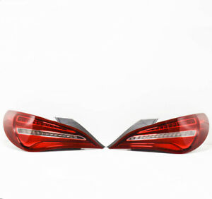 MERCEDES BENZ CLA C117 Rear Taillights Set A1179063800 A1179063700 NEW GENUINE