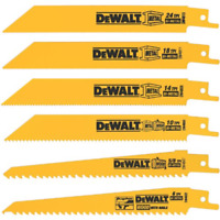 6PCS Reciprocating Saw Blade Craftsman Ryobi Decker Multi Color faster cuts NEW