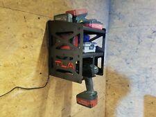 Wandhalterung für Akkuschrauber mit 2 Böden Halter Bohrmaschine Schlagschrauber