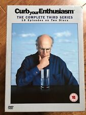 Larry David CURB YOUR ENTHUSIASM - SEASON 3 HBO Comedy Series UK DVD / Slipcover