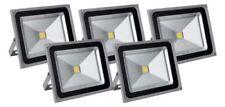 Corded Mains Outdoor Floodlights & Spotlights 50W 4-5 Lights