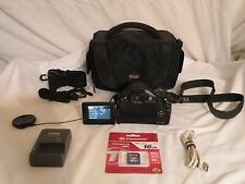 Canon Powershot SX30 IS 14.1 MP, 35x Digital Camera, Battery, Charger, Case, SD