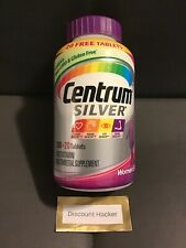 Centrum SILVER Multivitamin Multimineral for WOMEN AGES 50+ Complete - 220 Tabs