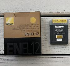 Nikon EN-EL12 Li-Ion Camera