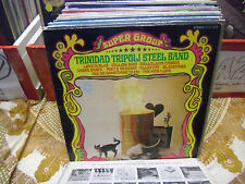 The Trinidad Tripoli Steel Band Super Group vinyl LP Forward Records VG+
