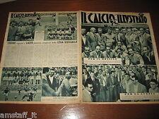 IL CALCIO ILLUSTRATO 1948/30=STATISTICHE CAMPIONATO=FOTO TRIESTINA-TORINO-MILAN