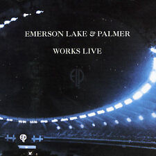 Works Live by Emerson, Lake & Palmer (CD, Nov-2004, Sanctuary) free shipping