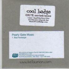 (BX937) Pearly Gate Music, Bad Nostalgia - 2010 DJ CD