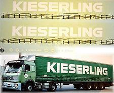 MERCEDES BENZ kieserling ekb Alemania (D) 1:87 ADHESIVO PEGATINA Camión