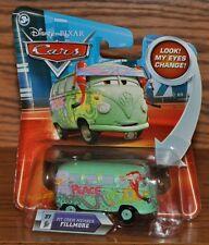 Disney Pixar Cars Die Cast Look My Eyes Change Fillmore Pit Crew #37 NEW
