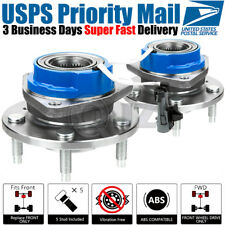 2x 2000-2008 Chevy Impala *4 Wheel ABS Only Front Wheel Hub Bearing Stud ABS NEW