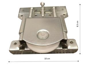UN (1) galet roulette robuste porte coulissante placard dressing réglable