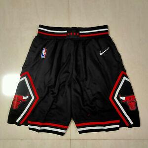 HOT Chicago Bulls Black Men's Basketball Shorts Size S-XXL