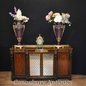 Regency Chiffonier Sideboard in Rosewood Antique Circa 1810