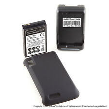 3500mAh Extended Battery for Motorola Atrix 4G MB860 Cover Dock Charger
