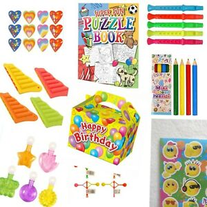 Kids Pre Filled Party Boxes Splendid Unisex Party Boxes For Children.
