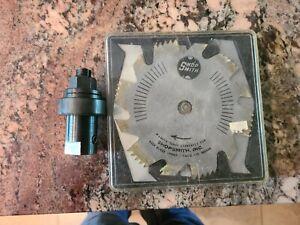 """Shopsmith Mark V 6"""" Dado Blade Set -- 505548 w/ 5/8 Arbor"""