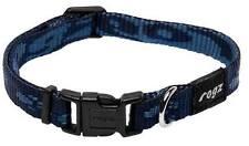 Colliers bleues en tissu pour chien