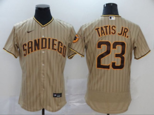 Men's Fernando Tatis Jr. San Diego Padres 2021 Tan Player Jersey