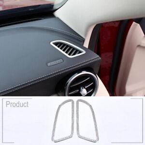 Mercedes Benz W205 W213 GlC AMG Accessories for Mercedes GLC Benz W205 W213 Interior Trim Door Audio Speaker Cover,Matte DAETNG Car Styling Accessories Interior Trim