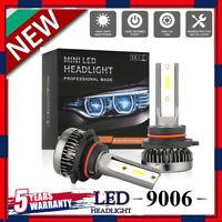 MINI 9006 LED Headlight Bulbs Conversion Kit 200W 48000LM 6000K Hi/Lo Beam Lamp@