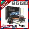 MINI 9006 LED Headlight Bulbs Conversion Kit 200W 48000LM 6000K Hi/Lo Beam Lamps