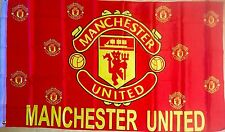 MANCHESTER UNITED 3x5 Feet FLAG BANNER, HOME COLORS, Large Size Unique Style