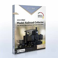 Stecotec Model Railroad Collector Pro - Software for Model Railroaders | CD-ROM