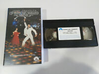 Febbre del Sabato Notte John Travolta Bee Gees VHS Nastro Spagnolo