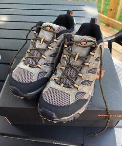 Merrell Mens Moab 2 Vent Walnut Hiking Boots Size 11 NIB