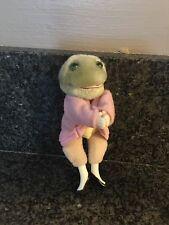 Frog 1985 Eden Toys Beatrix Potter Jeremy Fisher Frederick Warne Clip On Doll
