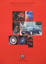 Prospekt original BMW ALPINA Teile 3er E46  04/99  incl. Preise CHF