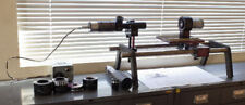 Richter R-2 Autocollimator w/M-2 Micrometer Optical Bench B Lens Adapters Lenses