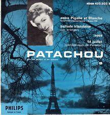 45 T  EP PATACHOU *ENTRE PIGALLE ET BLANCHE*