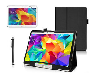 """PU Leather Smart Case Cover For Samsung Galaxy Tab 4 10.1"""" SM-T530/531/533/535"""