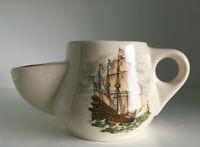 Rasierseifen Schale Krug Nassrasur Wade Pottery Segelschiff Sauciere Jardiniere