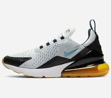 Nike Air Max 270 -SIZE 10.5- DJ2736-001 Pure Platinum Aqua Blue Gum Black OG QS