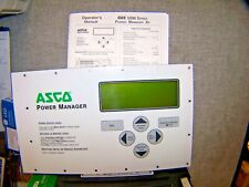 ASCO 5220 SERIES POWER MANAGER Xp  TRANSFER SWITCH WITH OPERATOR MANUAL
