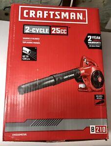 Craftsman B210 25CC 2-Cycle 200-MPH 430-CFM Handheld Gas Leaf Blower