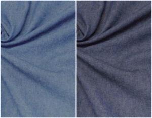 Tessuto jeans 100% cotone denim ammorbidito vendita cm. 50 x 148  art.500