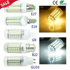 E27 B22 LED Lámpara 5730SMD AC 220V 110V E14 G9 GU10 LED Bombilla Luz Lámpara Luz de maíz