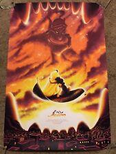 Tom Miatke Disney Aladdin Robin Williams  Art Print Poster Mondo Movie Cartoon