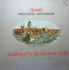 WATER MUSIC - ACADEMY OF ST.MARTIN-IN-THE-FIELDS - NEVILLE MARRINER  - LP
