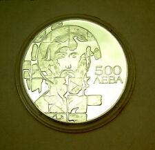 Bulgarien 500 Lewa 1993 Silber PP 33,51g Ø39mm Heiliger Theodorus Ikone