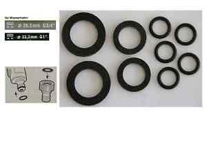 Dichtungsset für alle 1/2 Zoll Schlauchsysteme z.B. Gardena G1 G3/4