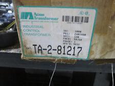 Acme Industrial control transformer TA-2081217 1000VA  240/480 x 120