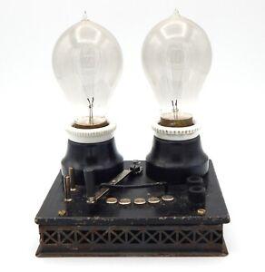 Märklin Train, Voltage Regulator A 2 Lamps, Rare, 1925, A See, 3471/2