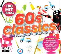 100 Greatest Hits of the SIXTIES * New 5-CD Boxset * All Original 60's Hits